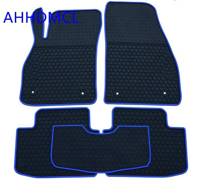 Car Rubber Floor Mats Anti Slip Mat Carpets Feet Pad For