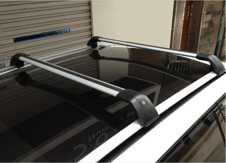 Aluminum Luggage Baggage Roof Rack Cross Bar For Land