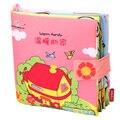 Livro do bebê brinquedo aprendizagem precoce educacional macio berço hanging toys 0-12 meses do bebê livro de pano para crianças