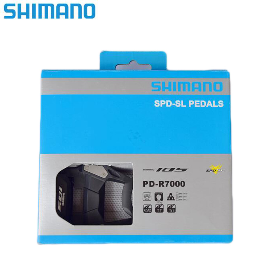 Shimano 105 pd r7000 bicicleta de estrada auto-bloqueio pedal spd pedais de bicicleta com grampo sh11 grampos ciclismo acessórios