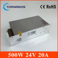 LED switching power supply 24V 500W switching power supply transformer 110VAC 220VAC 24VDC display power CE and ROHS approved