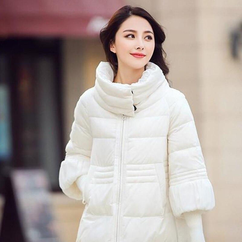 ФОТО 4 Colors Hot Sale 2016 Hitz Winter Jacket Women Plus Size S-2XL Cloak Parka Female Padded Jacket Cotton Down Women Winter Coat