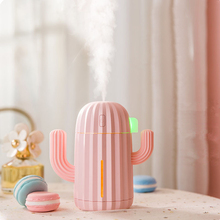 340ML USB Air Humidifier Cactus Timing Aromatherapy Diffuser Mist Maker Fogger Mini Aroma Atomizer for Home dc5v mini usb air humidifier aroma diffuser home aromatherapy essential oil diffuser mist maker fogger atomizer humidificador
