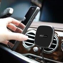Автомобильный телефон Зарядное устройство Nillkin Ци Беспроводной магнитный держатель Зарядное устройство для Samsung S7/S7 S8 плюс edge/Примечание 5 /i8 Беспроводной зарядное устройство