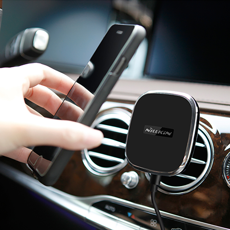 Car Phone Charger Nillkin Qi Wireless Magnetic Holder Charger For Samsung S7/S7 S8 Plus Edge/Note 5/i7 Wireless Charging Device  samsung note 5 charger   Official Samsung Fast Wireless Charger Note 5 30 Minute Charge Test and Full Review Car Phone font b Charger b font Nillkin Qi Wireless Magnetic Holder font b Charger b