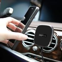 Cargador del coche del Teléfono Nillkin Qi Inalámbrica Cargador Soporte Magnético Para Samsung S7/S7 S8 Más Borde/Nota 5/i8 Dispositivo de Carga Inalámbrica