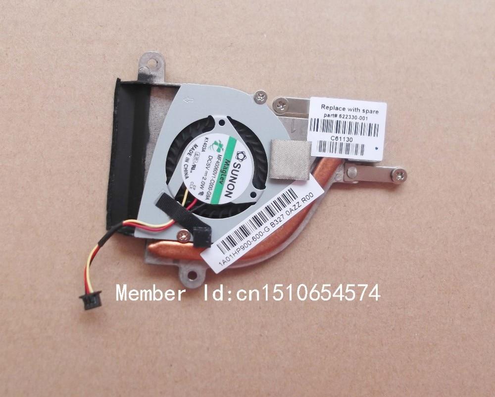 Original cooling CPU heatsink with fan for HP Mini 110 210 210-2000 series laptop/notebook radiator 622330-001 1A01HP900-600-G for asus u46e heatsink cooling fan cooler