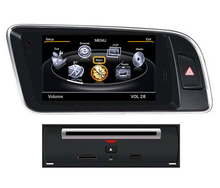 Free Shipping 7 inch Car DVD Player GPS Navigation System for Audi Q5 2008 2009 2010 2011 2012 2013 2014 2015 Parking Air RDS