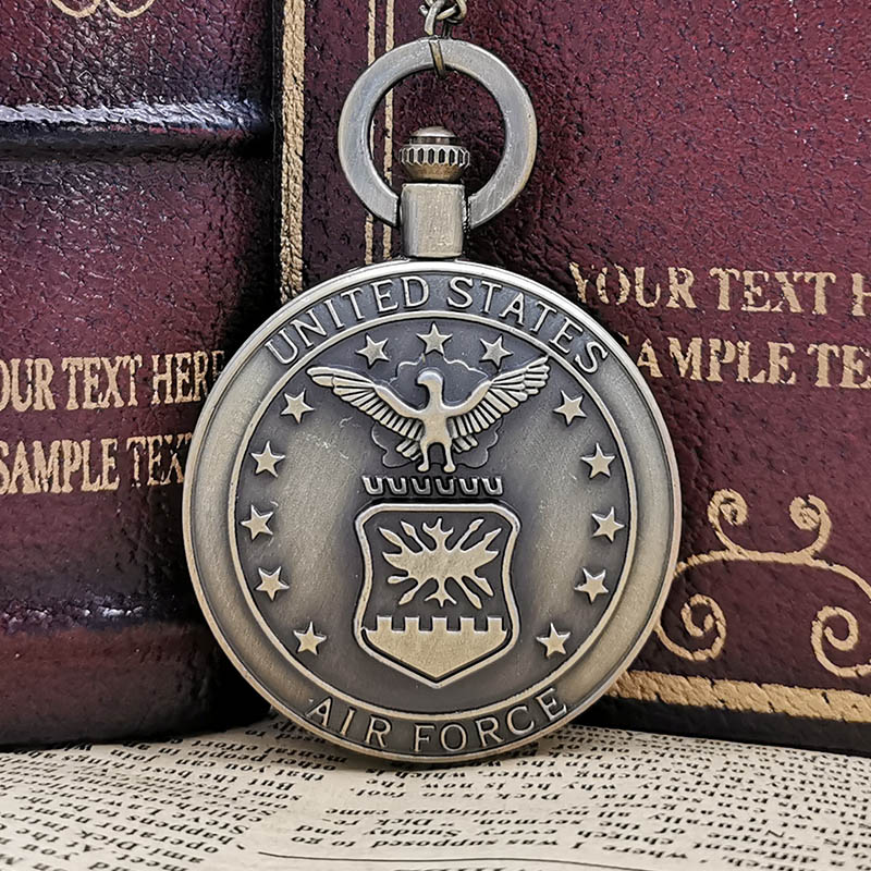New Fashion Jewelry Hunger Games Retro Necklace Pocket Watch Bronze Antique Cool Bird Clock Men's And Women's Fob Watches