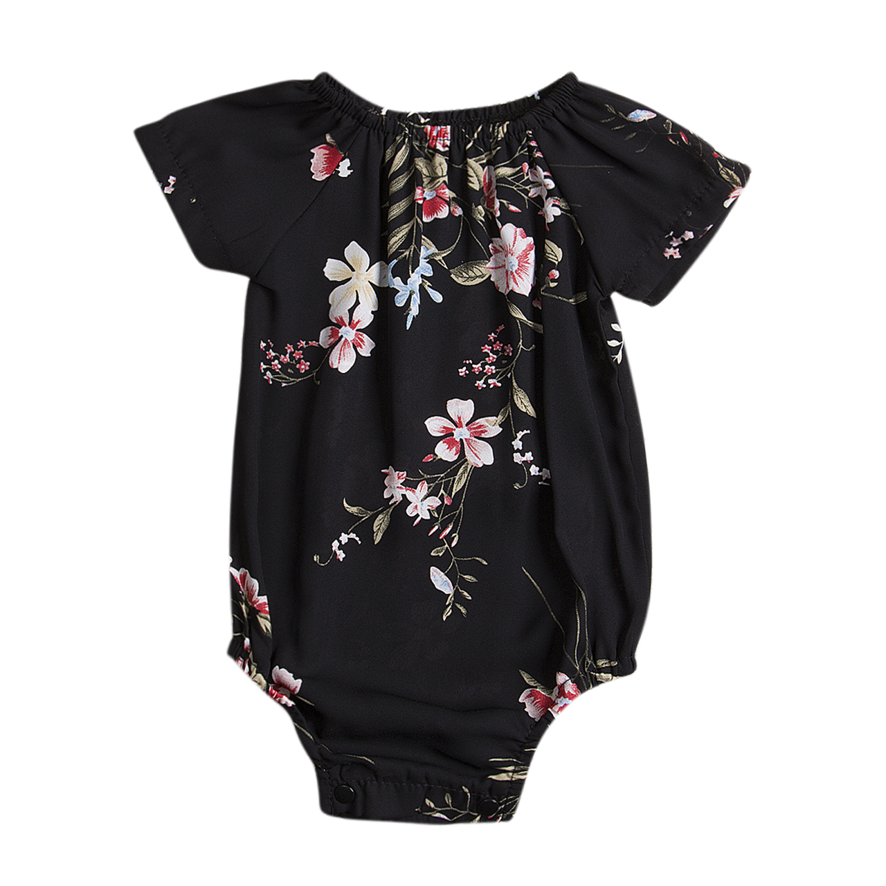 Newborn Infant Baby Girl Floral Romper Jumpsuit Sunsuit Cotton One-Pieces Outfits Girls Summer Clothes