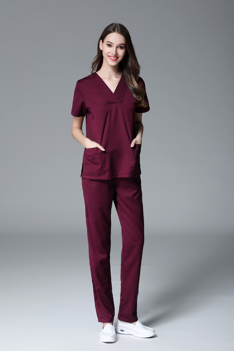 Back To Search Resultsnovelty & Special Use Viaoli Medical Clothing Scrub Set Womens Short Sleeve Surgical Gown Doctor Apparel Beauty Salon Workwear Spa Uniform
