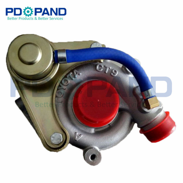 US $139 68 11% OFF|Supercharger Turbine Turbo Kit CT9 17201 54090 17201  54081 For Toyota Land Cruiser Hardtop/Hilux/Hiace 2 4TD 2446cc 2L T -in  Turbo