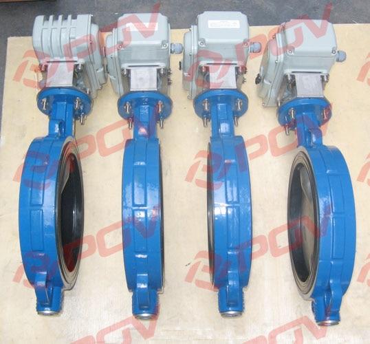 Wafer type butterfly valve dn150 6'' water electric valve 220v ac switch on off type pn16kg ethylene propylene soft seal butterfly valve pn 1 6 dn65 manual flange valve