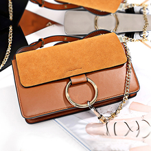 купить Luxury Brand Women Bags Genuine Leather Ladies Handbags Female Shoulder Bag Fashion Girls Crossboby Bag Bolsa Feminina 2018 Gift по цене 4910.24 рублей