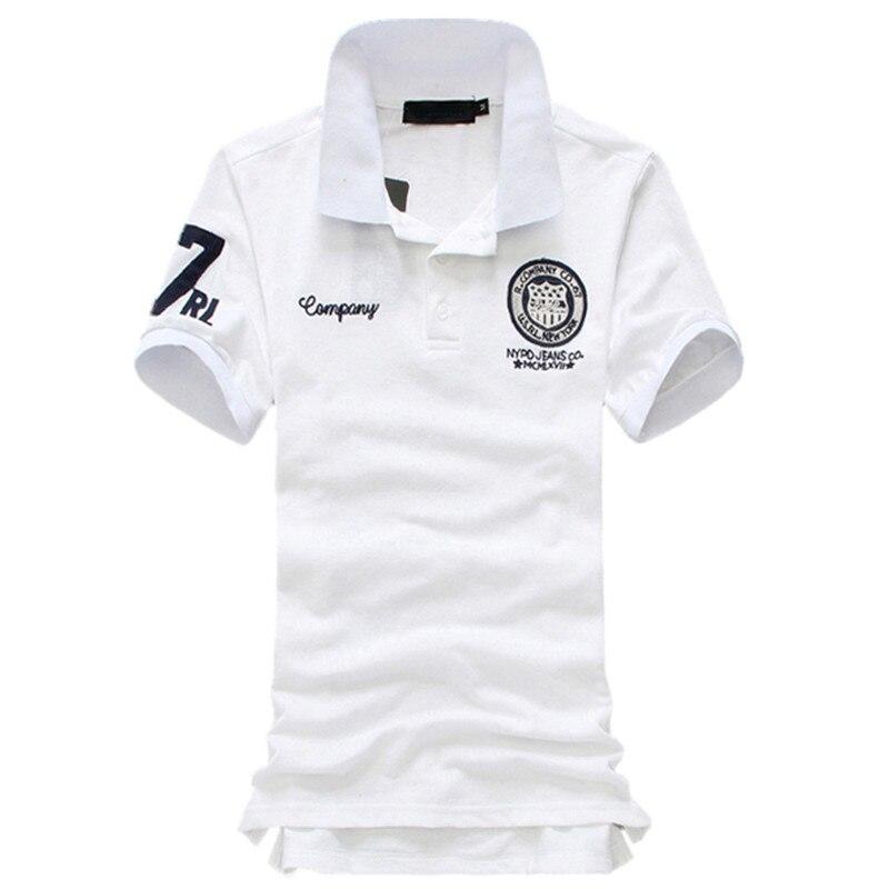 2019 summer fashion new men's casual short sleeve   POLO   shirt / male turn down collar Lapel   Polo   Shirts tops