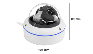 Image 4 - USAFEQLO Wide Angle 2.8mm Outdoor IP Camera PoE 1080P 960P 720P Metal Case ONVIF Security Waterproof IP Camera CCTV Infrared LED