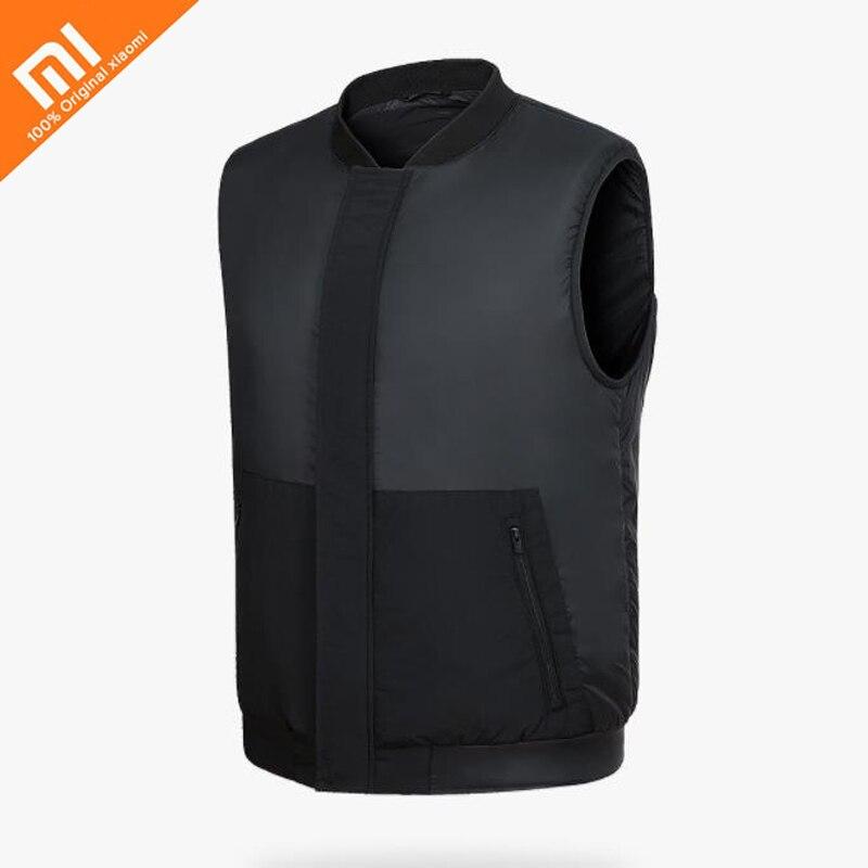 купить Original Xiaomi mijia PMA Graphene Multifunctional Heating Men Vest Washable Warm Business Waistcoat For Adult Man по цене 4351.16 рублей
