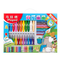 scribble scribble pen Maped Stationery set. I love drawing, nursery school, Baby painting, crayons, Christmas gifts