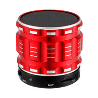 Bluetooth Speaker MP3 Player Stereo Hands Free Loudspeaker With Mic TF FM Audio For Mobile Phone
