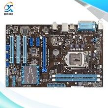 Для p8h61 plus оригинальный используется для рабочего материнская плата для intel h61 сокет LGA 1155 Для i3 i5 i7 DDR3 16 Г ATX На Продажу