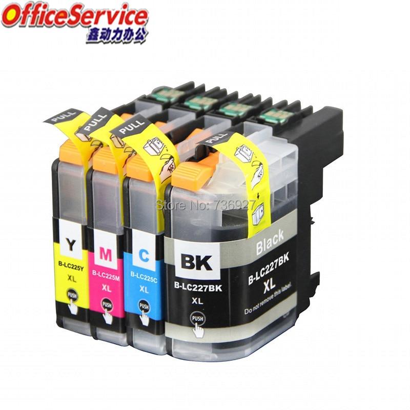 Совместимый чернильный картридж LC227 LC225 для Brother DCP-J4120DW MFC-J4420DW J4620DW J4625DW J5620DW J5625DW J5320DW J5720DW принтер