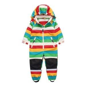 Image 3 - Wiosenna i jesienna kurtka dziecięca na zewnątrz, chłopiec i dziewczynka wiosenny i jesienny kombinezon wiatroszczelny i wodoodporny, 4 style