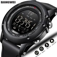 BANGWEI спортивные Смарт-часы Для мужчин многофункциональный цифровые часы Bluetooth шагомер IP68 Водонепроницаемый Умные Электронные спортивные мужские электронно-механические наручные часы