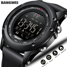 BANGWEI Sport Smart Watch Men Multifunction Digital Clock Bluetooth Pedometer IP68 Waterproof Smart Electronic Watch Relogios