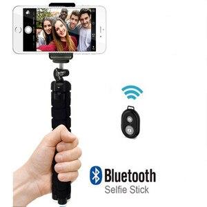 Image 1 - Elastyczny Mini statyw do aparatu telefonicznego akcesoria statyw Selfie Stick dla iphonea dla samsunga dla Xiaomi Go pro 9.25