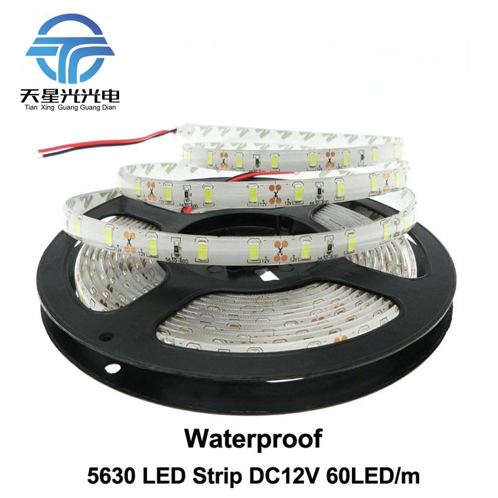 TXG libera el envío LED Strip 5630 impermeable LED flexible DC12V - Iluminación LED