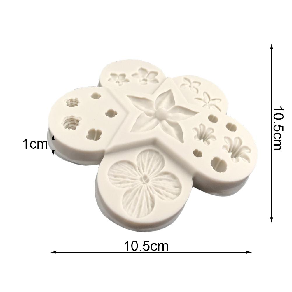 Flower Shaped Silicone Mould Fondant Cake DIY Baking Tools Making Chocolate Jelly In The Oven Easy To Clean 2019 in Cake Molds from Home Garden