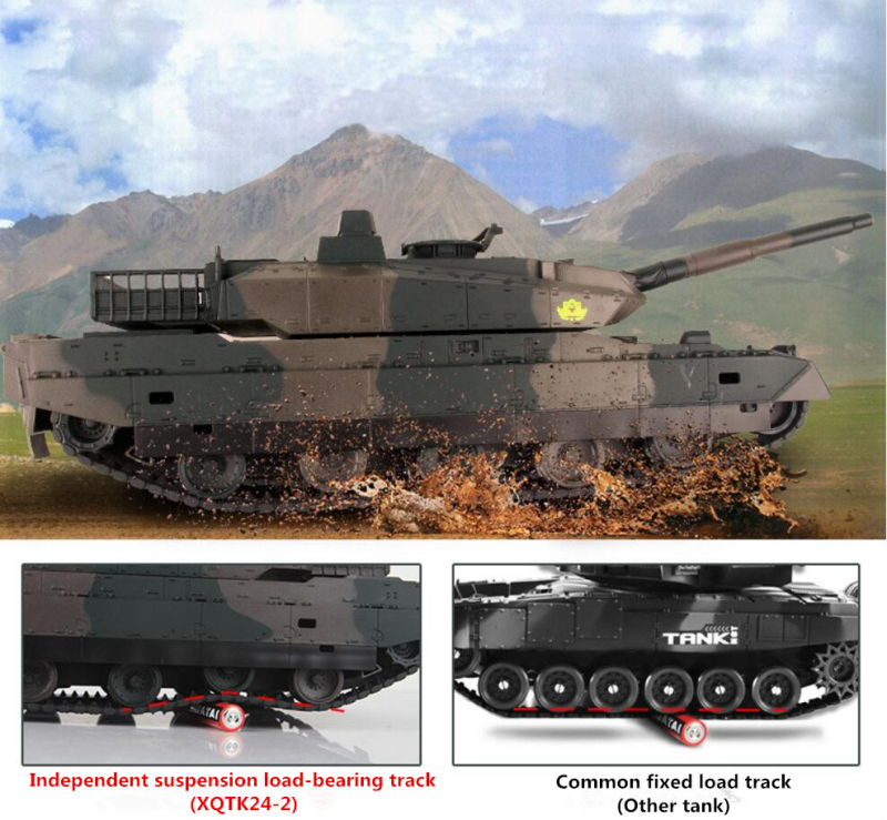 2018-new-Army-remote-control-Battle-Model-XQTK24-2-40CM-large-scale-330-degrees-rotate-Simulation (2)