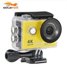 GOLDFOX H9/H9R Action camera Ultra HD 4K WiFi 1080P/60fps 2.0 LCD 170D lens Bike Helmet Cam Go waterproof pro Mini Video camera
