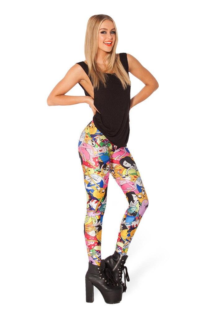 vrouwen digitale 3D-geprinte broek Woah Dude 2.0 HWMF Legging merk - Dameskleding - Foto 6