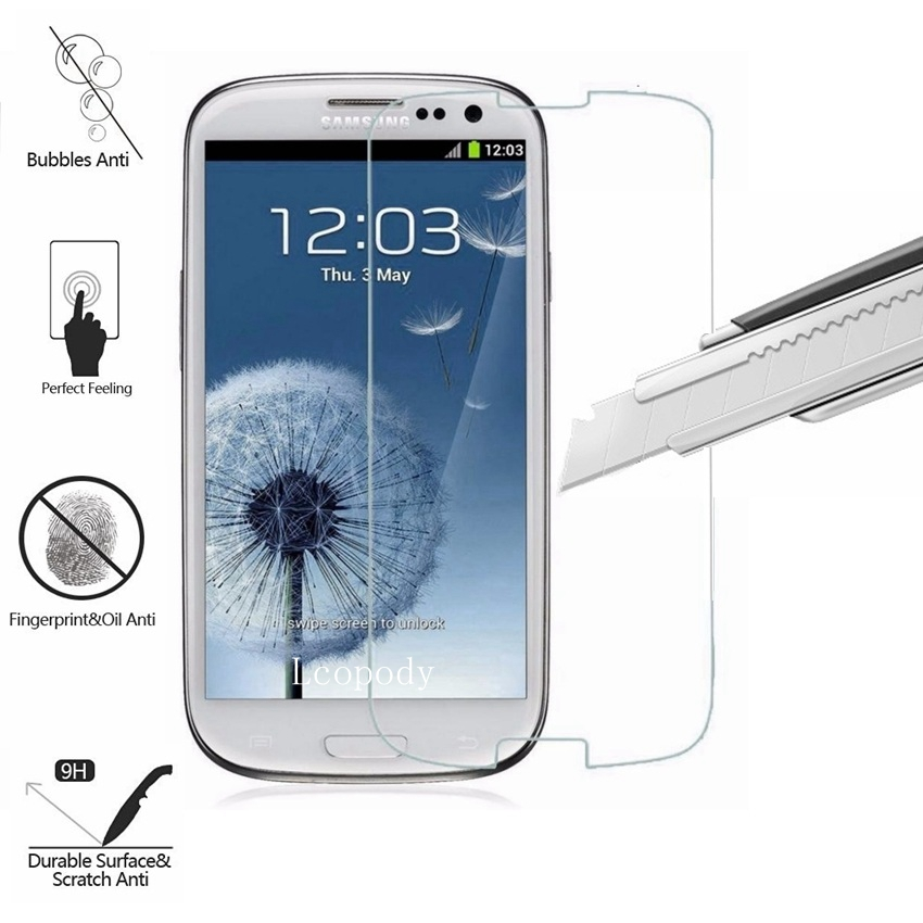 HD 9H Tempered Glass Film For Samsung Galaxy S4 S IV I337 Screen Protector sklo glas ver ...