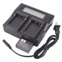 DSTE NP 85 Battery with 1.5A Dual USB Battery Charger for Fuji SL300 SL260 SL1000 Smart Digital Camera