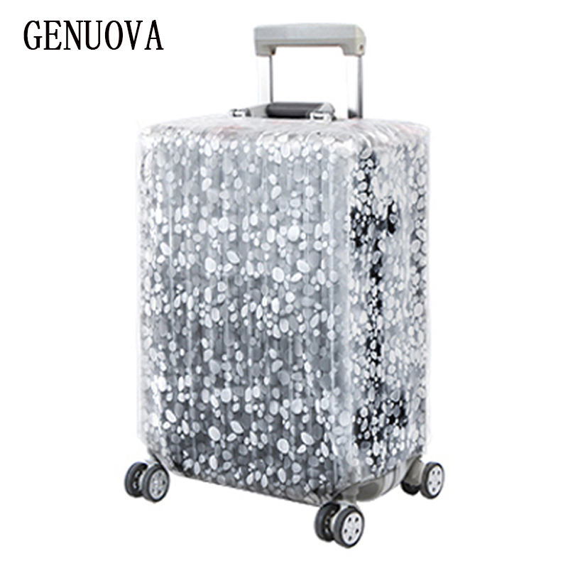 Transparent And Thick PVC Trolley Case Set Rainproof And Wearable Case Set Dust Cover Waterproof Protective Cover 20-28inchs