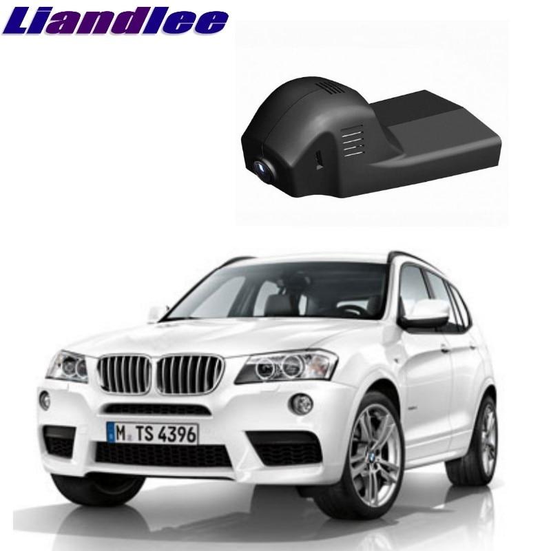 Liandlee For BMW X3 F25 MK2 2010~2018 Car Black Box WiFi DVR Dash Camera Driving Video Recorder