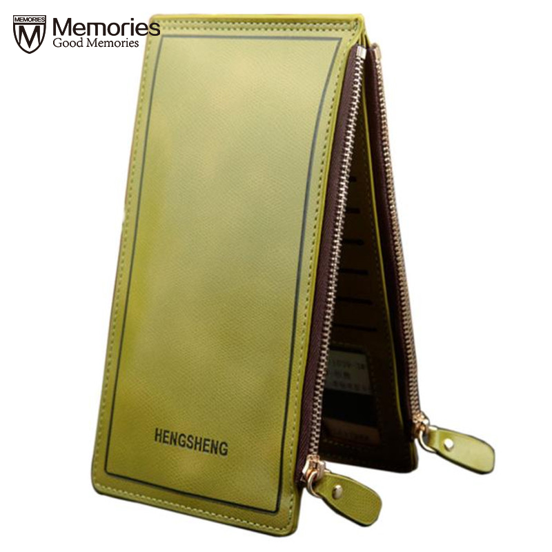 2018 New Fashion Women Long Wallets Zipper Pocket Card Holder Clutch Bifold Slim Purse Coin Leather Zipper Small Clutch Bag