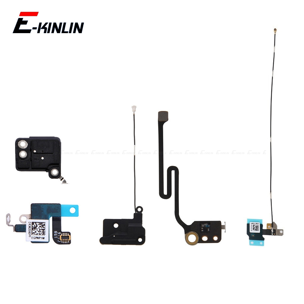 For IPhone 6 6S 7 8 Plus WiFi Antenna GPS Cover Signal Connector Shield Plate Flex Cable Repair Parts