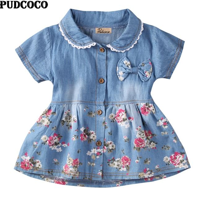 Weiche Hellblau Blumenmädchen Kleid Casual Sommer Prinzessin Kleid ...