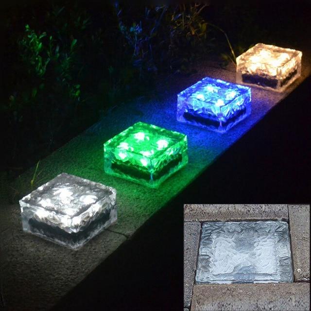 Waterproof Recessed Led Floor Lights IP68 Outdoor Solar