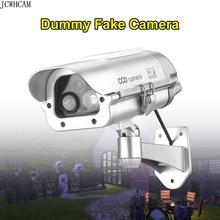 Solar Power Imitation Fake Dummy Camera Bullet Waterproof Outdoor Indoor Security CCTV Surveillance Camera