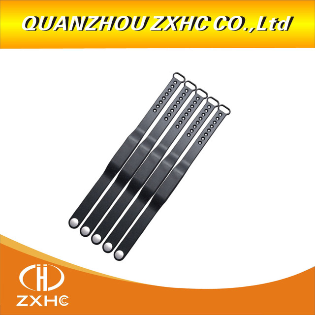 5PCS/LOT Adjustable TK4100 125khz Silicone Waterproof RFID Wristband Bracel ID Tags