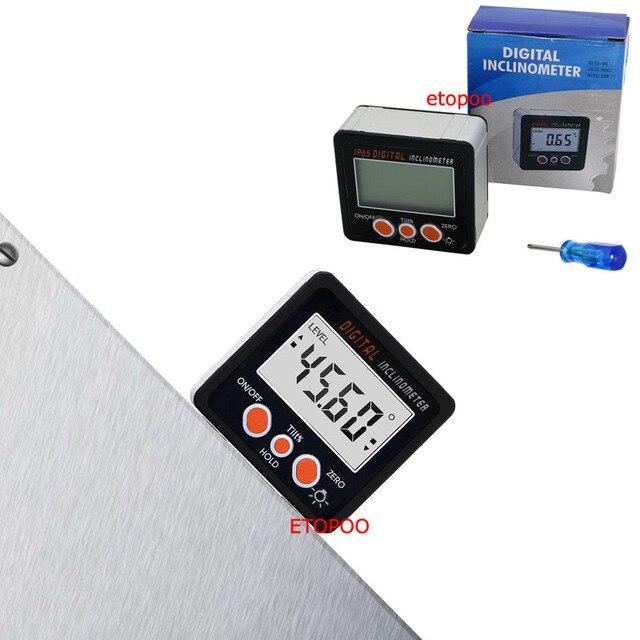 IP54 wasser proof mini Digital Winkelmesser elektronische Neigungs ...