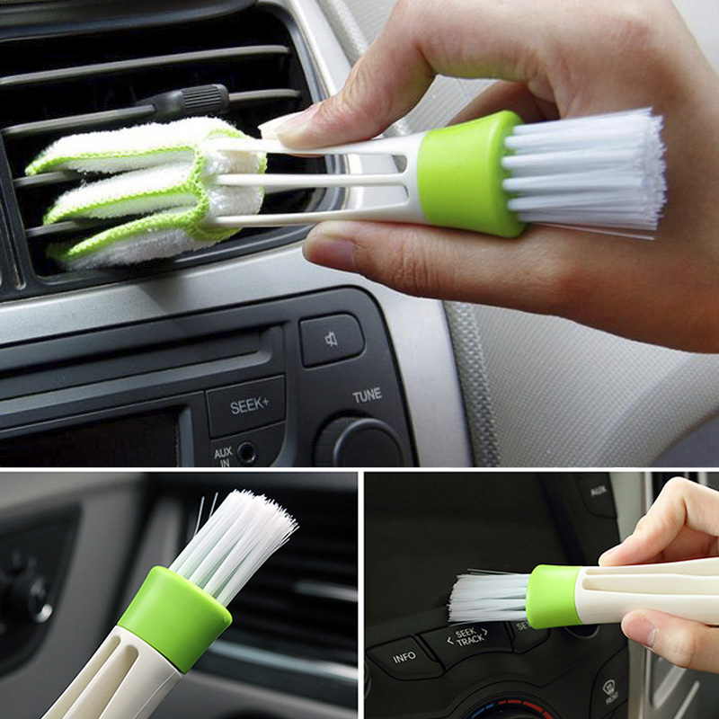 Car Cleaning Brush Auto Microfiber Duster Tool For <font><b>Peugeot</b></font> 307 206 308 407 207 3008 406 208 508 301 2008 408 <font><b>5008</b></font> image