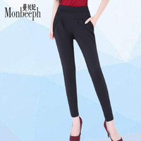 Monbeeph New Women Pants High Quality Slim Stretch Pencil Pants High Waist Trousers Pantalon Femme Plus