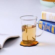 Высококачественные термостойкие стеклянные простые чашки кухонные принадлежности боросиликатный пищевой чайник прозрачный молочный стакан AA