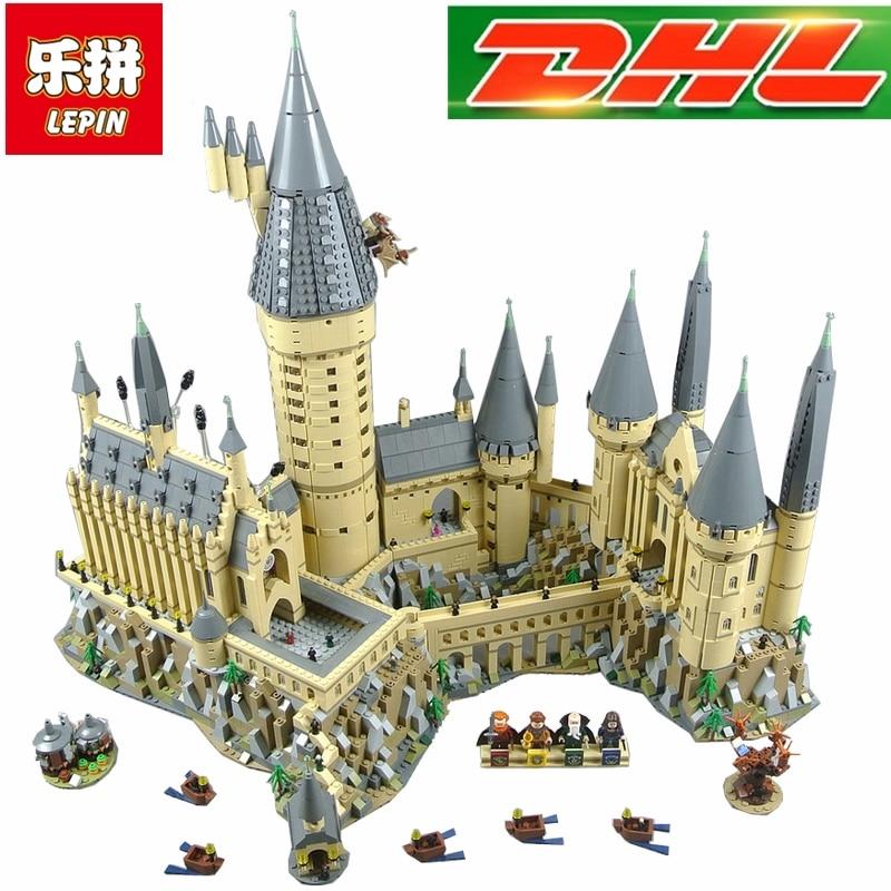 Compatible Legoings 71043 Lepin 16060 6742 pcs Harry Potter Magique Poudlard Château L'école Kit Building Blocks Briques Jouet Modèle