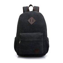 Heißer Verkauf Leinwand männer Rucksack Zu Schule Casual Reise Vintage Stil Rucksack Umhängetaschen Laptop Multifunktions Mochila XA364D